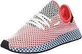 adidas Herren Deerupt Gymnastikschuhe, Rot (Solar Red/Solar Red/Bluebird), 42 EU