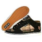 Vox Skateboard Schuhe Hewitt Beer Hunter Black / Olive, Schuhgrösse:46.5