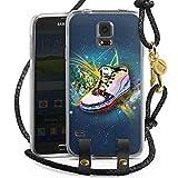 DeinDesign Samsung Galaxy S5 Neo Carry Case Hülle zum Umhängen Handyhülle mit Kette Shoes Schuhe Sneaker