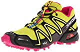 Salomon Speedcross 3 CS L30878700, Damen Sportive Sneakers, Grün (S Green/Black/Fancy Pink), EU 39 1/3 (UK 6)