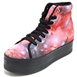 Jeffrey Campbell 78156 Sneaker HOMG Polyester Print Scarpa Donna Shoes Women [41]