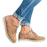 Tatis Shoes Openwork dekorative Spitze Mode Vielseitige Niedrige Ferse Schuhe Frauen Runde Kappe Einfarbig Knöchel Flach Wildleder Casual Schnürschuhe Sportschuhe 5 Farben 35-43 Schuhgröße