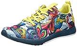 Desigual Damen Shoes_Training S, 37, 4153 Shaded Spruce Hallenschuhe, Grün (Shaded Spruce), 37 EU