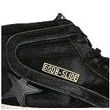Golden Goose Herrenschuhe Herren Wildleder Schuhe High Sneakers Slide Schwarz EU 45 G33MS595.V6