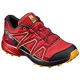 Salomon Unisex Baby Speedcross K Sneaker, Rot (Fiery Red/Black/Bright Marigold 69), 28 EU