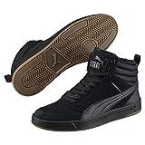 Puma Unisex-Erwachsene Rebound Street V2 SD FUR Hohe Sneaker, Schwarz Black-Iron Gate 01, 40 EU