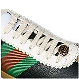 Gucci Herrenschuhe Herren Leder Schuhe Sneakers G74 Schwarz EU 44 5216810PV202361