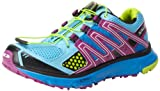 Salomon XR Mission L32703500, Damen Sportive Sneakers, Blau (Scoblu/Verypurple/Pop Green), EU 39 1/3 (UK 6)