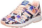 Adidas Jungen und Mädchen ZX Flux Sneakers, Mehrfarbig  (Haze Coral/haze Coral/ftwr White), 38 2/3 EU