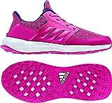 adidas Unisex-Kinder RapidaRun Laufschuhe, Pink (Vivber/Chapnk), 38 EU
