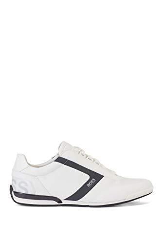 BOSS Herren Saturn Lowp Sneakers mit thermofixiertem Besatz Größe 43