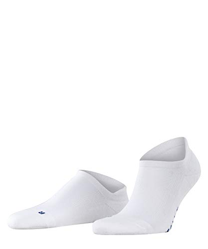 FALKE Unisex Cool Kick Sneaker U SN Socken, Blickdicht, Weiß (White 2000), 37-38