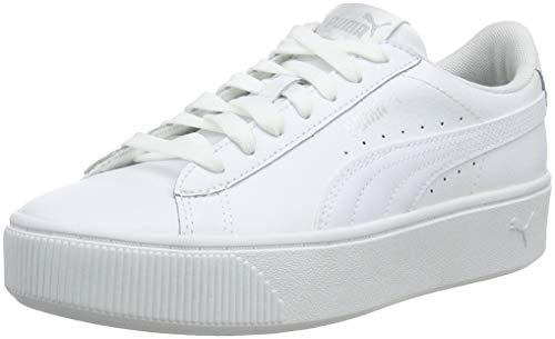 PUMA Damen Vikky Stacked L Zapatillas, White White, 39 EU