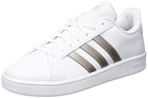 adidas Damen Grand Court Base Laufschuh, Weiß Metallic, 39 1/3 EU