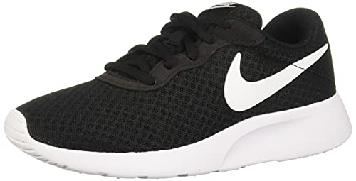 Nike Damen WMNS Tanjun Sneaker, Black White 812655 011, 39 EU