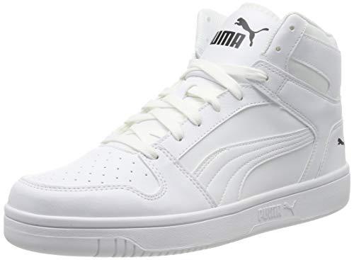 PUMA Unisex-Erwachsene Rebound LayUp SL Sneaker, White Black 03, 39 EU