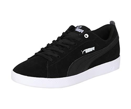 PUMA Damen Smash WNS v2 SD Sneaker, Black Black, 40 EU