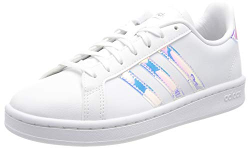 adidas Damen Grand Court Sneakers, White, 40 EU