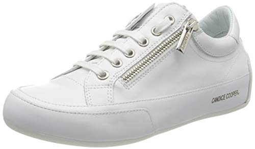 Candice Cooper Damen RockDeluxZ Sneaker, Weiß (Bianco Vitello), 39 EU