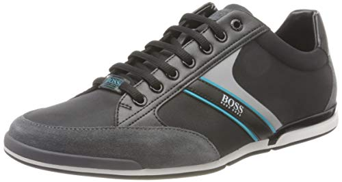 BOSS Herren Saturn_Lowp_mx Sneaker, Open Grey63, 44 EU, 10 UK