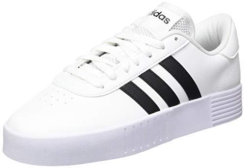 adidas Damen Court Bold Sneakers, White, 40 EU