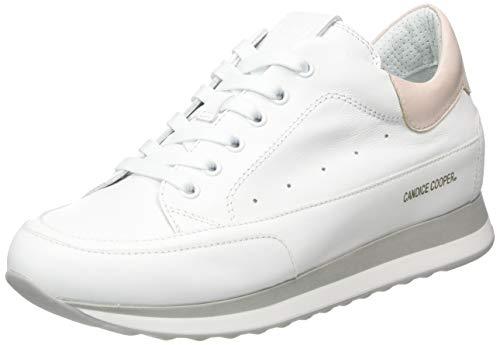 Candice Cooper Damen Houston Sneaker, Weiß (Bianco Vitello), 37 EU