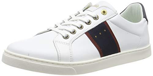 Pantofola d'Oro Herren Napoli Uomo Low Sneaker, Weiß (Bright White .1fg), 46 EU