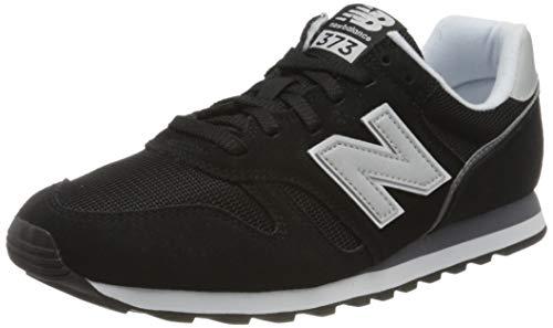 New Balance Herren 373 Core Sneaker Low-top, Schwarz (Black/White Ca2), 45 EU