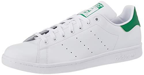 adidas Unisex-Erwachsene Stan Smith Basketballschuhe, Weiß (Running White/New Navy), 41 1/3 EU