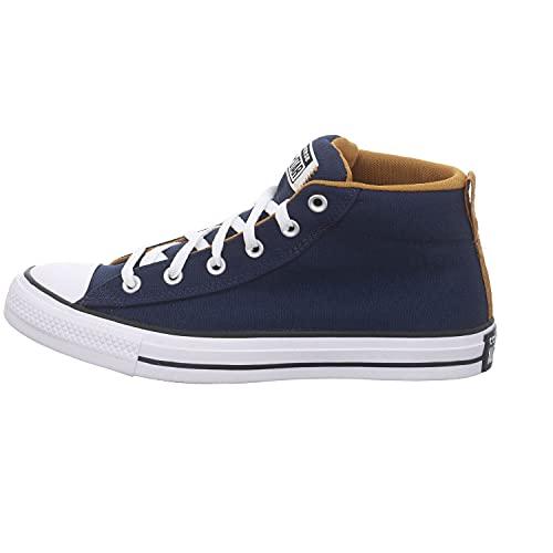 Converse Herren Mid Sneaker Chuck Taylor All Star Street Seasonal Color - MID 170395C Blau, Groesse:41 EU