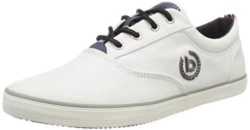 bugatti Herren 321502046900 Sneaker, Weiß (Weiß 2000), 42 EU