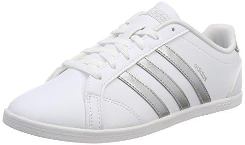 adidas Damen Coneo QT Fitnessschuhe, Weiß (Ftwbla/Plamat/Ftwbla 000), 40 EU