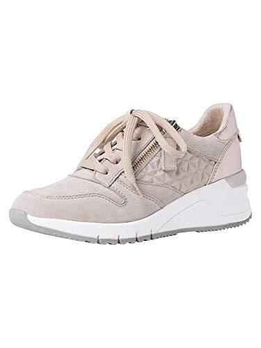 Tamaris Damen 1-1-23702-26 Sneaker, Niedrig, taube comb, 39 EU