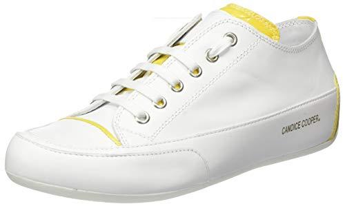 Candice Cooper Damen RockProfil Sneaker, Weiß (Bianco Vitello), 39 EU