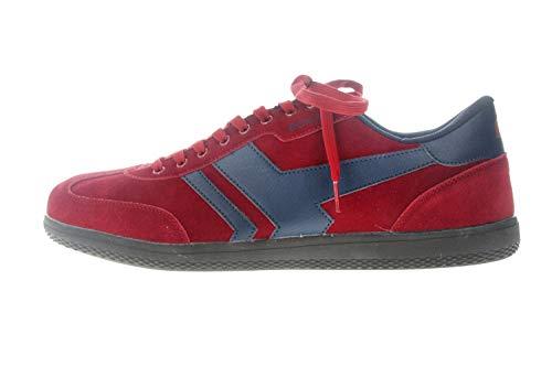 Boras Sneaker in Übergrößen Rot 3541-1528 große Herrenschuhe, Größe:49