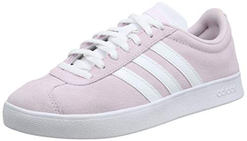 adidas Damen VL Court 2.0 Sneaker, Pink (Aero Pink/Footwear White/Light Granite 0), 37 1/3 EU