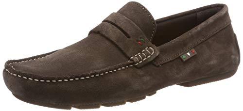 Pantofola d'Oro Herren OLIVEIRO Uomo Low Mokassin, Braun (Dark Brown .30A), 40 EU