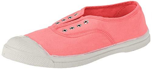 Bensimon Damen Elly Femme Slip On Sneaker, Pink (Sorbet 0498), 37 EU
