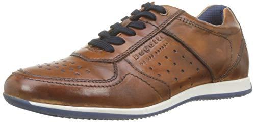 bugatti Herren 311450073500 Niedrig Sneaker, Braun, 43 EU