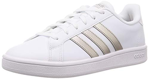 adidas Damen Grand Court Base Sportschuhe, Weiß Metallic, 38 EU