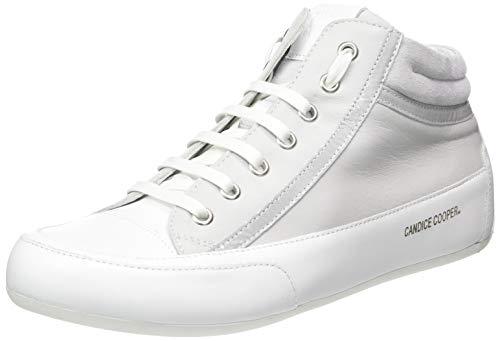 Candice Cooper Damen Denver Hohe Sneaker, Silber (Silver Chantal), 38 EU