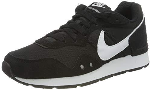 Nike Womens Venture Runner Sneaker, Black/White-Black,41 EU
