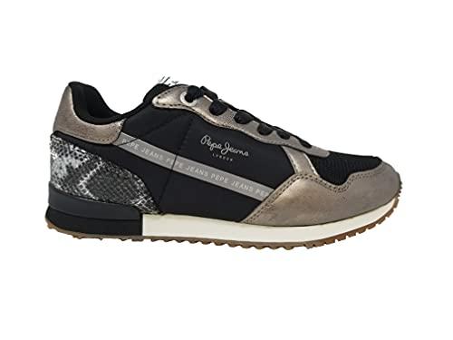 Pepe Jeans London Damen Archie TOP Sneaker, 952CHROME, 40 EU
