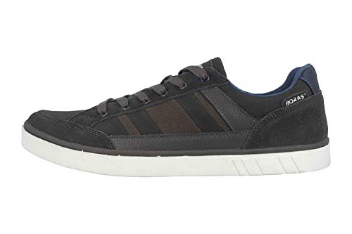 Boras SP Sports Casual Sneaker Vista Sneaker in Übergrößen Grau 4900-1548 große Herrenschuhe, Größe:53