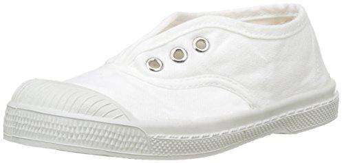 Bensimon Unisex-Kinder Tennis Elly Enfant Flach, Weiß (Blanc), 32 EU