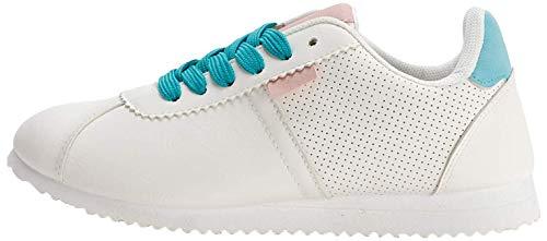 K KomForme Damen Classic Leather Sneakers Freizeitschuhe Traillaufschuhe Leichte Fitnessschuhe,Größe 36-41