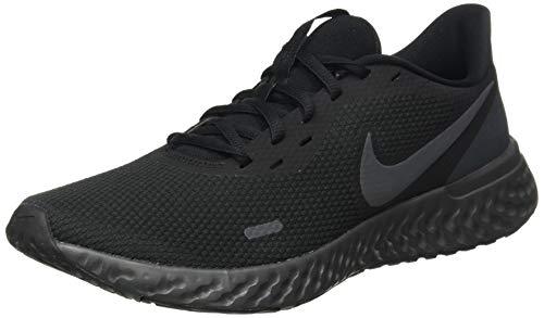 Nike Herren Revolution 5 Leichtathletikschuhe, Mehrfarbig (Black/Anthracite 001), 44 EU