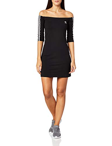 adidas Shoulder Dress Frauen Kurzes Kleid schwarz S