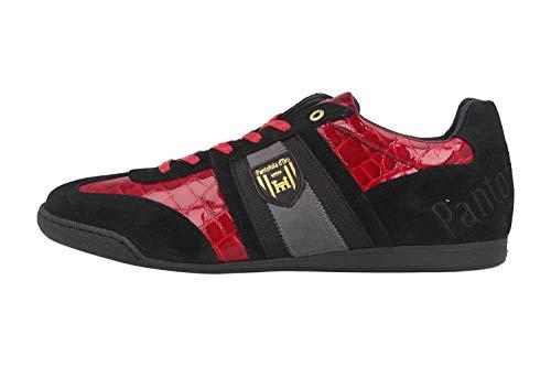 Pantofola d'Oro Herren Imola Scudo PATENT Uomo Low Sneaker, Rot (Racing Red .90j), 47 EU