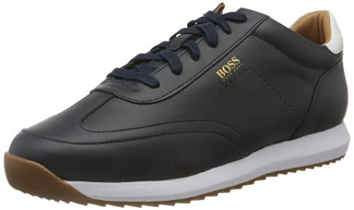 BOSS Herren Sonic_Runn_nawt Sneaker, Dark Blue401, 42 EU, 8 UK